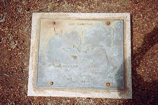 Plaque on the floor