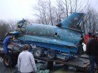 Bluebird is loaded onto the trailer ©Bluebirdproject  http://www.bluebirdproject.com