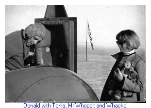 Donald Campbell and Mr Whoppit
